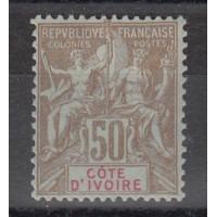 Cote d'Ivoire - Numéro 17  - Neuf avec charnière