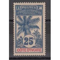 Cote d'Ivoire - Numéro 27 - Neuf avec charnière