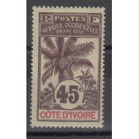 Cote d'Ivoire - Numéro 30 - Neuf avec charnière