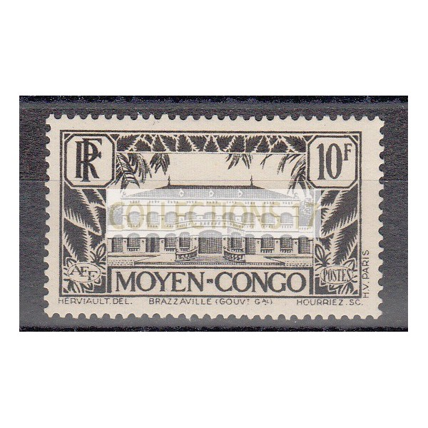 Congo - Numéro 133 - Neuf avec charnière