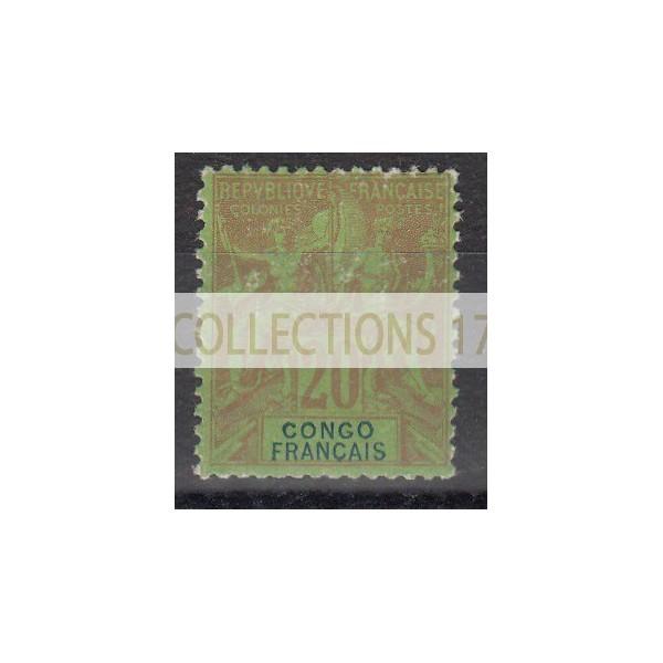Congo - Numéro 18 - Neuf avec charnière
