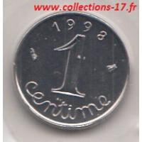 1 Centime Epi 1998