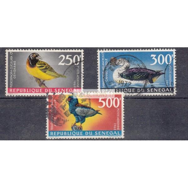 Sénégal - numéro PA 65 à 67 - Oblitéré