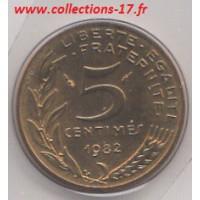 5 Centimes Marianne 1982