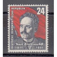 Rep. Démocratique d'Allemagne - numéro 46 - neuf avec charnière