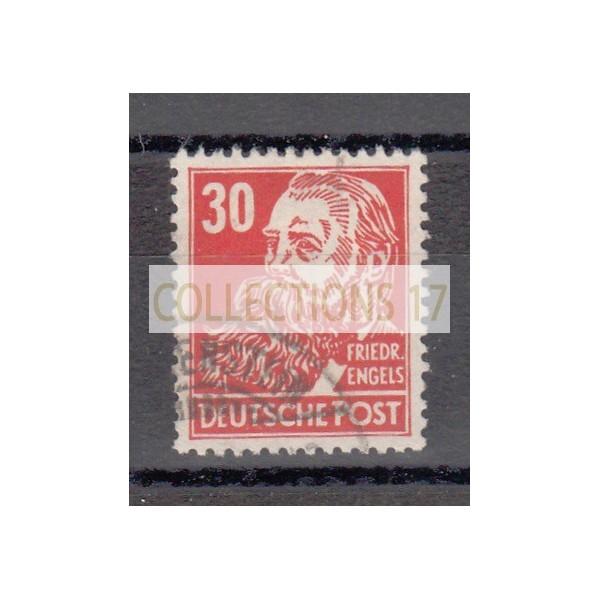 Rep. Démocratique d'Allemagne - numéro 99 - oblitéré