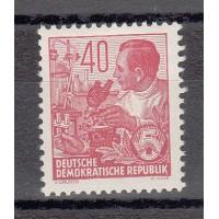 Rep. Démocratique d'Allemagne - numéro 158A - neuf avec charnière