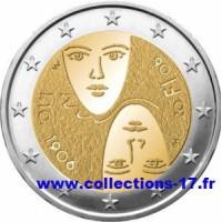 2 €uros Finlande 2006 (UNC Sortie de Rouleau)