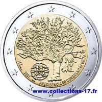 2 €uros Portugal 2007 (UNC Sortie de Rouleau)
