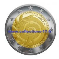 2 €uros Grèce 2011 (UNC Sortie de Rouleau)