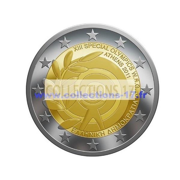 2 €uros Grèce 2011