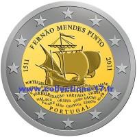 2 €uros Portugal 2011 (UNC Sortie de Rouleau)