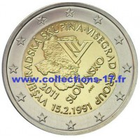 2 €uros Slovaquie 2011 (UNC Sortie de Rouleau)