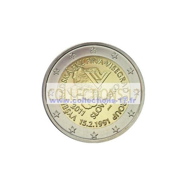 2 €uros Slovaquie 2011