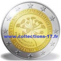 2 €uros Slovénie 2010 (UNC Sortie de Rouleau)