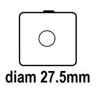 Carton - diam 27.5mm - à Agrafer