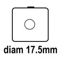 Carton - diam 17.5mm - à Agrafer