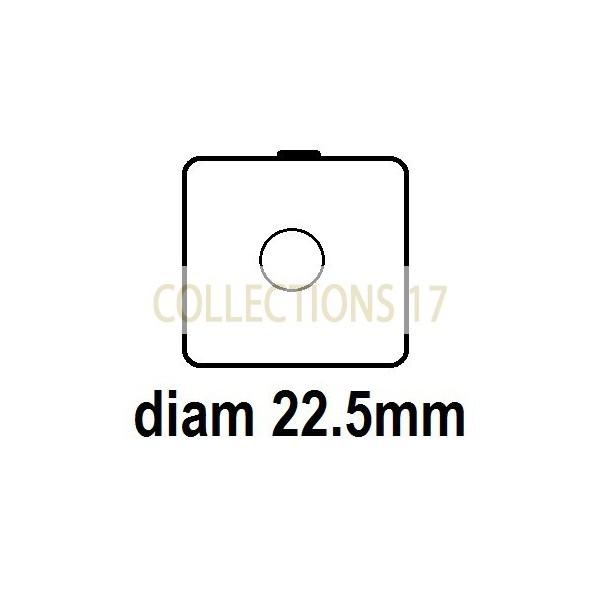 Carton - diam 22.5mm - à Agrafer