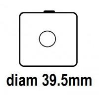 Carton - diam 39.5mm - Autocollant