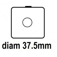 Carton - diam 37.5mm - Autocollant
