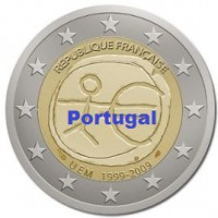 2 €uros 2009 UEM - EMU Portugal