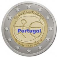 2 €uros 2009 UEM - EMU Portugal (UNC Sortie de Rouleau)