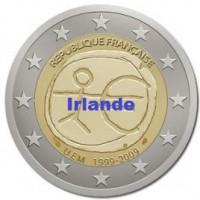 2 €uros 2009 UEM - EMU Irlande (UNC Sortie de Rouleau)