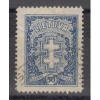 Lituanie - numéro 287 - oblitéré