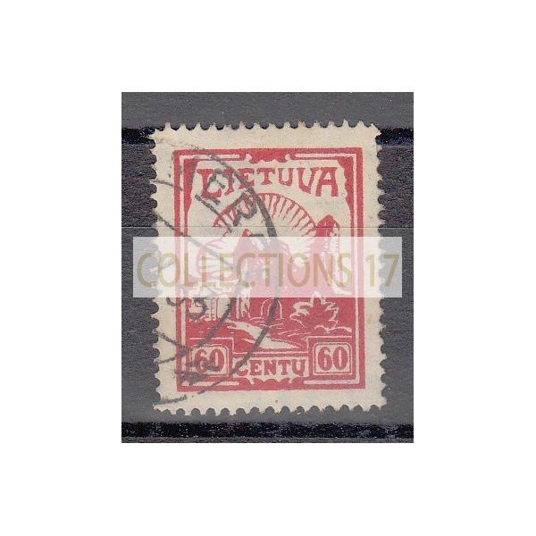Lituanie - numéro 339 - oblitéré