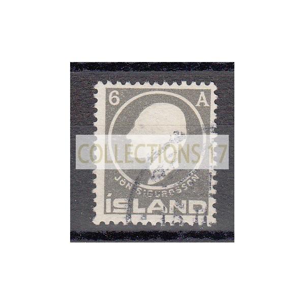 Islande - numéro 65 - oblitéré