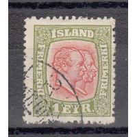 Islande - numéro 75 - oblitéré