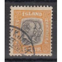 Islande - numéro 26 Service  - oblitéré