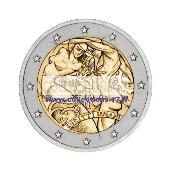 2 €uros Italie 2008