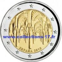2 €uros Espagne 2010 (UNC Sortie de Rouleau)
