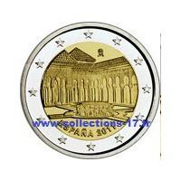 2 €uros Espagne 2011 (UNC Sortie de Rouleau)