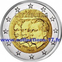 2 €uros Luxembourg 2011