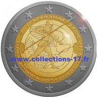 2 €uros Grèce 2010 (UNC Sortie de Rouleau)