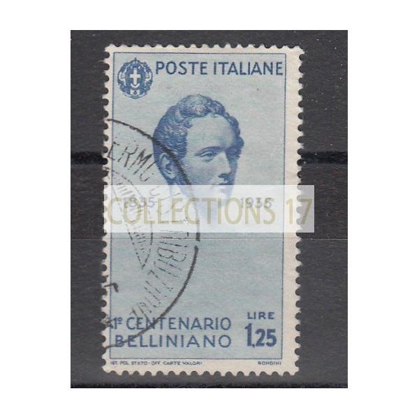 Italie  - numéro 371 - oblitéré