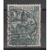 Italie  - numéro 427 - oblitéré