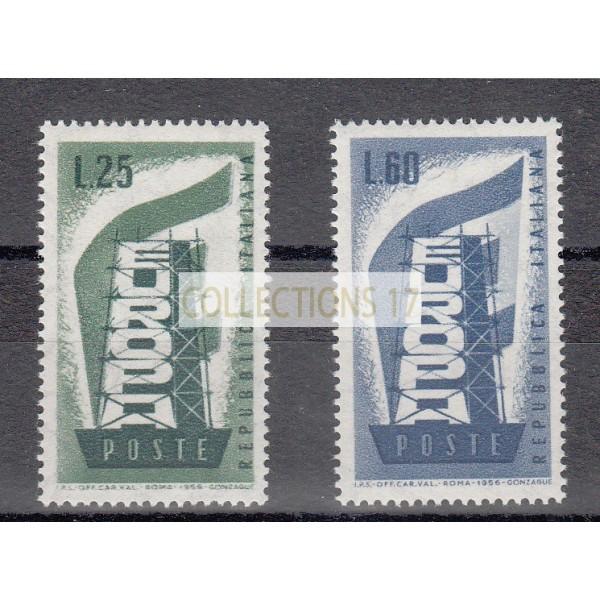Italie  - numéro 731 et  732 - neuf sans charnière
