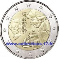 2 €uros Pays-Bas 2011 (UNC Sortie de Rouleau)