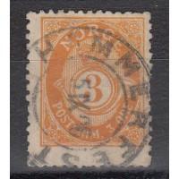 Norvege - numéro 48 B - oblitéré