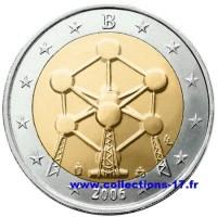 2 €uros Belgique 2006 (UNC Sortie de Rouleau)