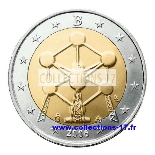 2 €uros Belgique 2006