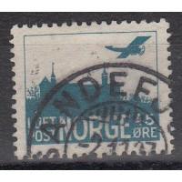 Norvege - numéro 1 - PA - oblitéré