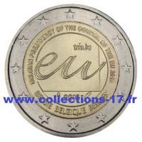 2 €uros Belgique 2010 (UNC Sortie de Rouleau)