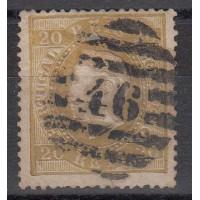 Portugal - numéro 39 B - oblitéré