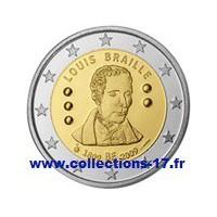 2 €uros Belgique 2009 (UNC Sortie de Rouleau)