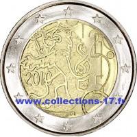 2 €uros Finlande 2010 (UNC Sortie de Rouleau)