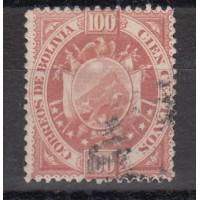Bolivie - numéro 45 - oblitéré